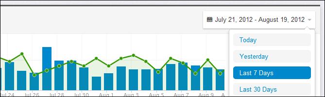 Bootstrap date range picker for web app